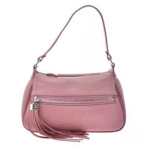 CHANEL Handbag Pink SV